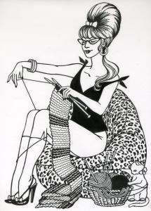 knit-pin-up